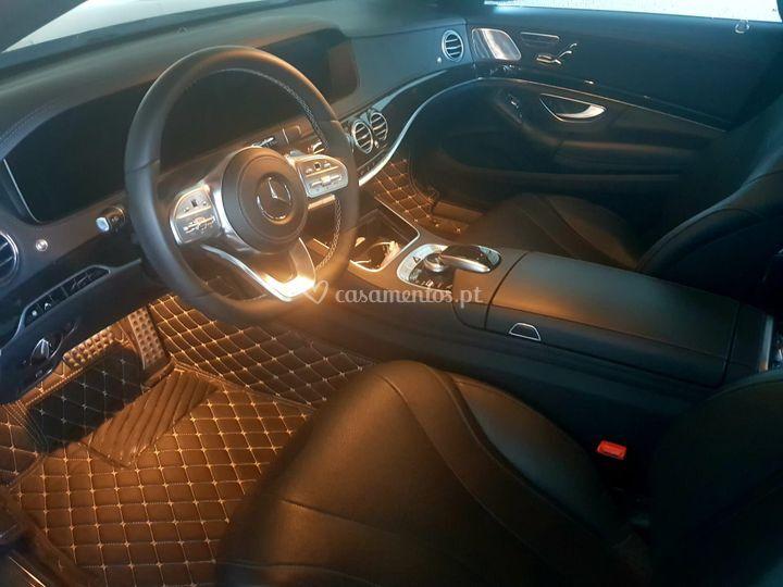 Mercedes Class S interior