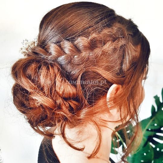 Hairstyle prova noiva