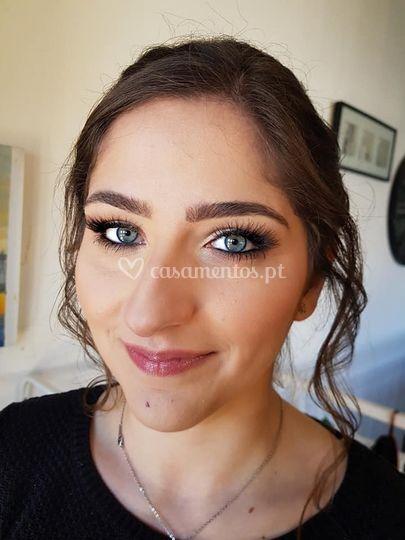 Makeup prova noiva