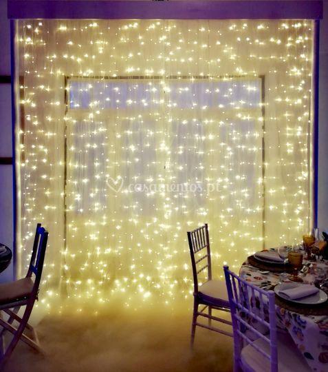 Cortinas led fairy lights