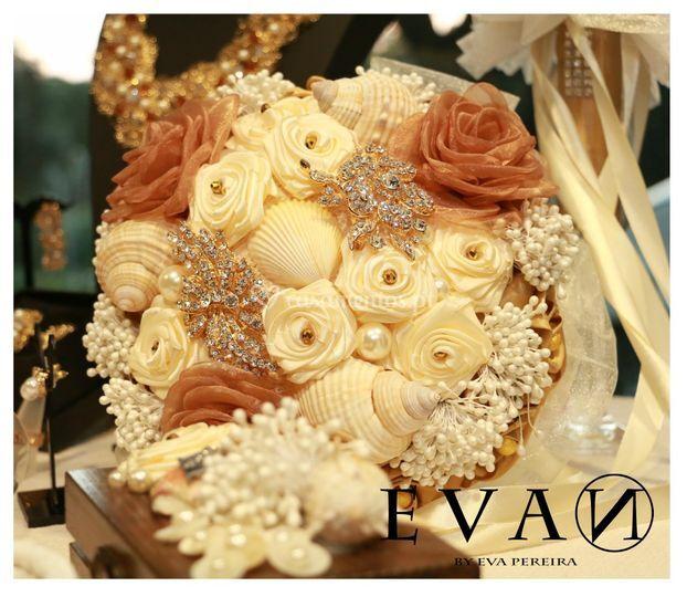 Bouquet de jóias para noiva