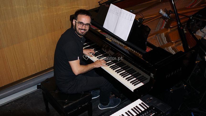 Pianista Nuno Parreira