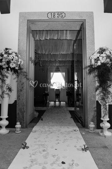 Salão D'ouro - Entrada