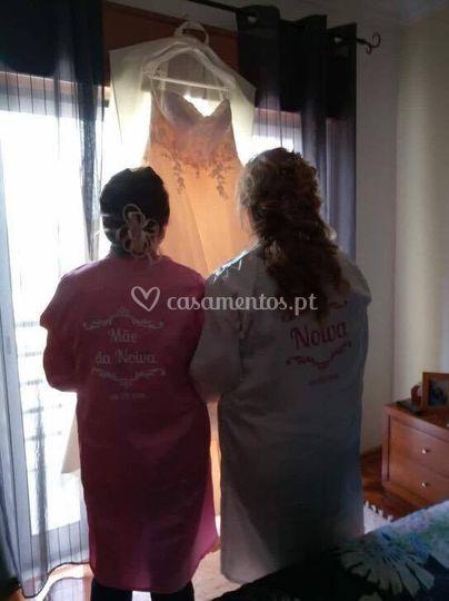 Robe mãe e noiva