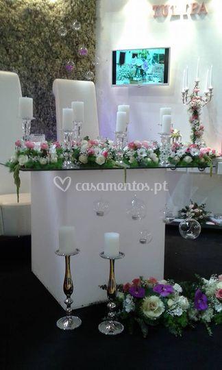 Mesa dos Noivos Tulipa Eventos