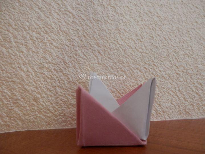 Forminhas em origami