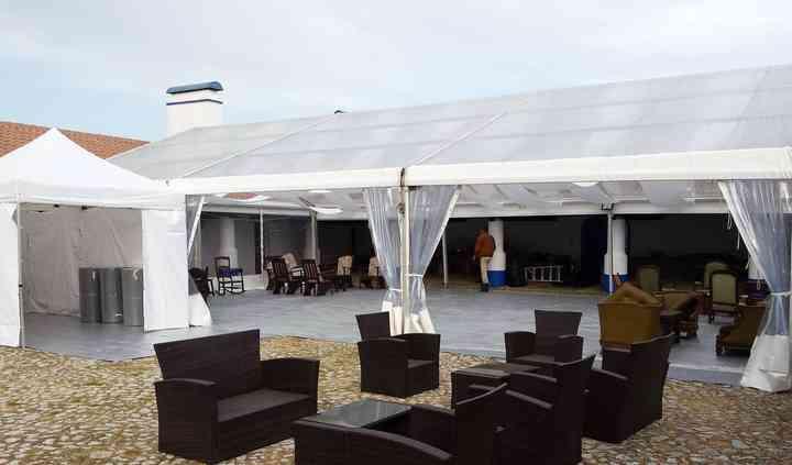 Tenda e lounge