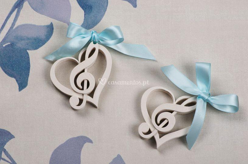 Coração Musical Aromático
