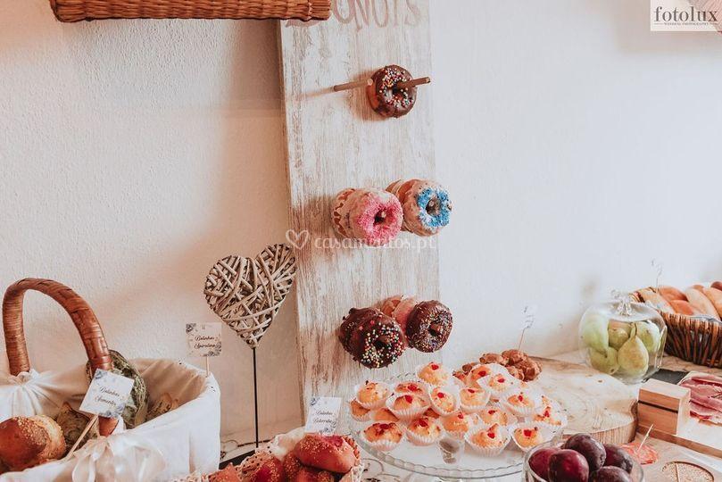 Placard de Donuts
