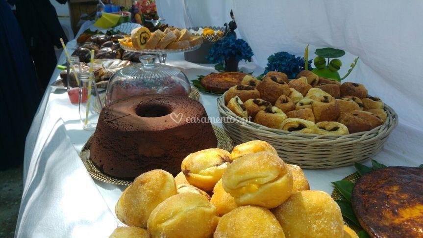Pães de ló e outros bolos