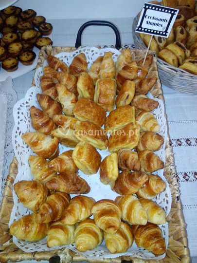 Mistos e croissants