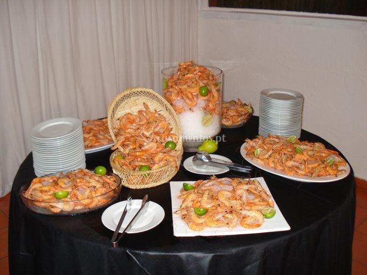 Buffet de camarão