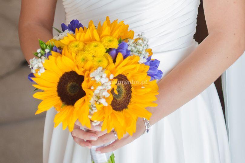M&a girassois: bouquet