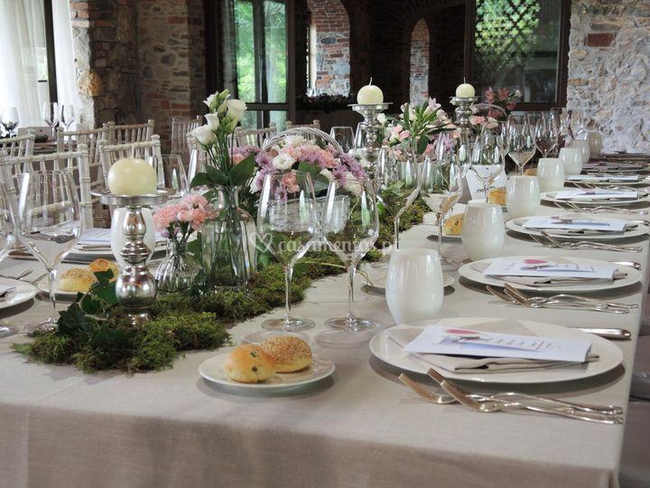 Romantico rosa: mesa imperial
