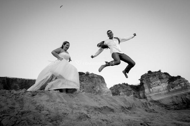 Casamento algarve praia