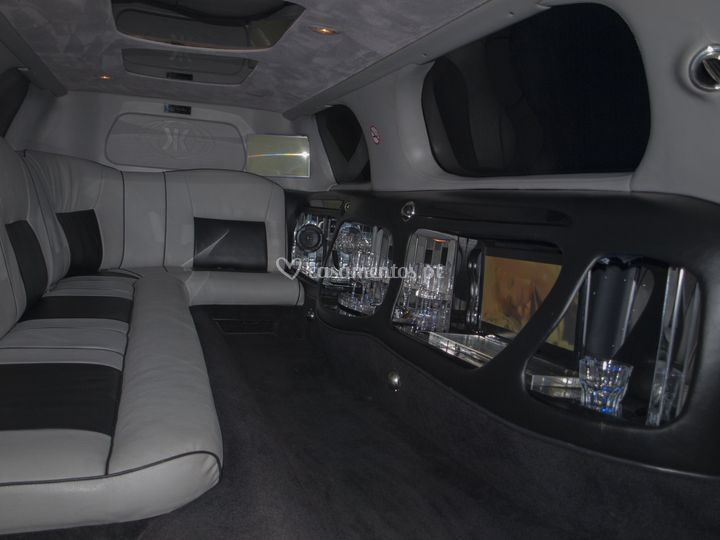 Interior limousine