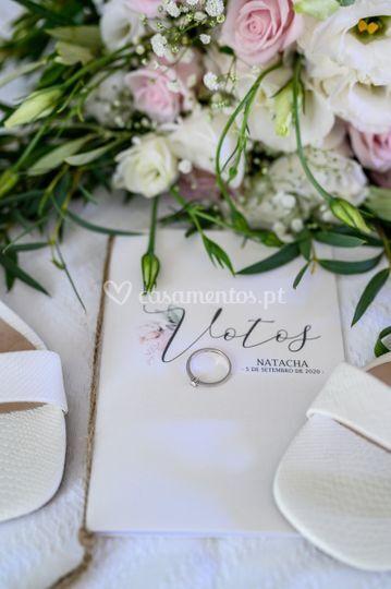 Pormenores casamento da noiva