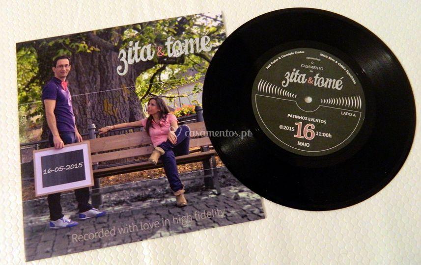 Convite Vinyl 1