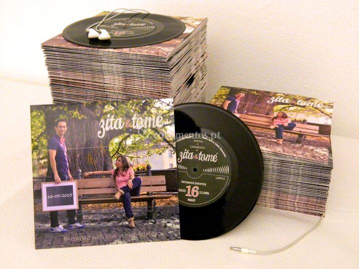 Convites Vinyl 2