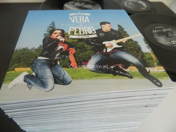 Convites Vinyl 6