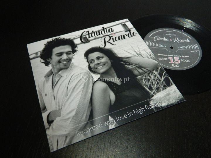 Convites Vinyl 8
