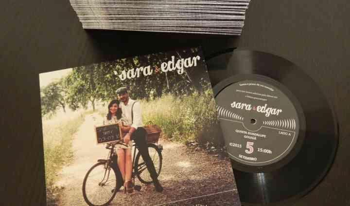 Convites Vinyl 3