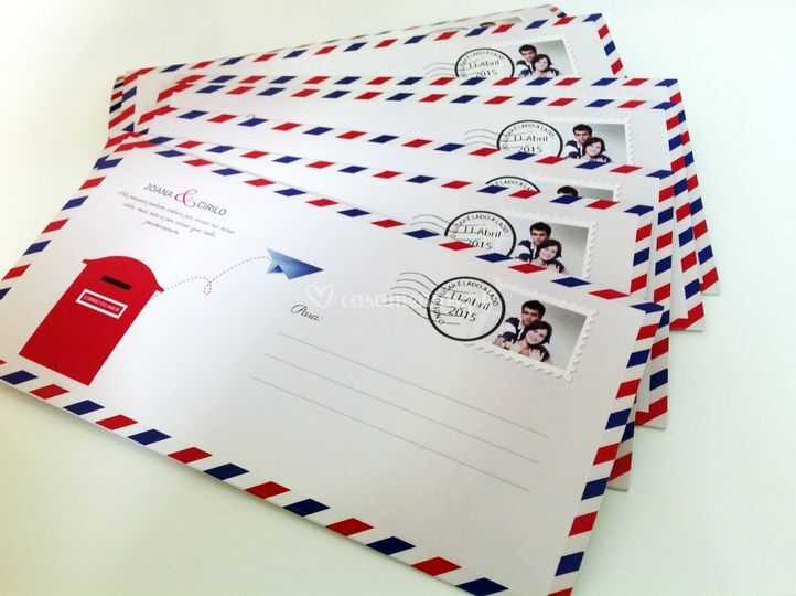 Envelope Internacional