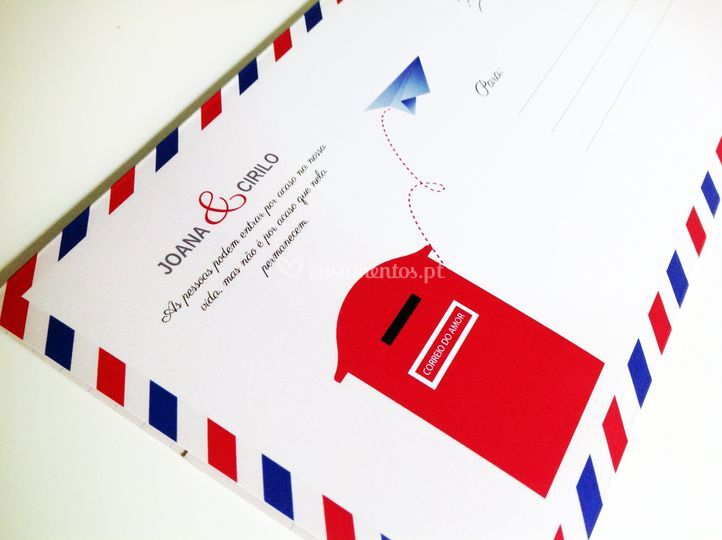 Envelope Internacional