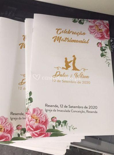 Missal impresso