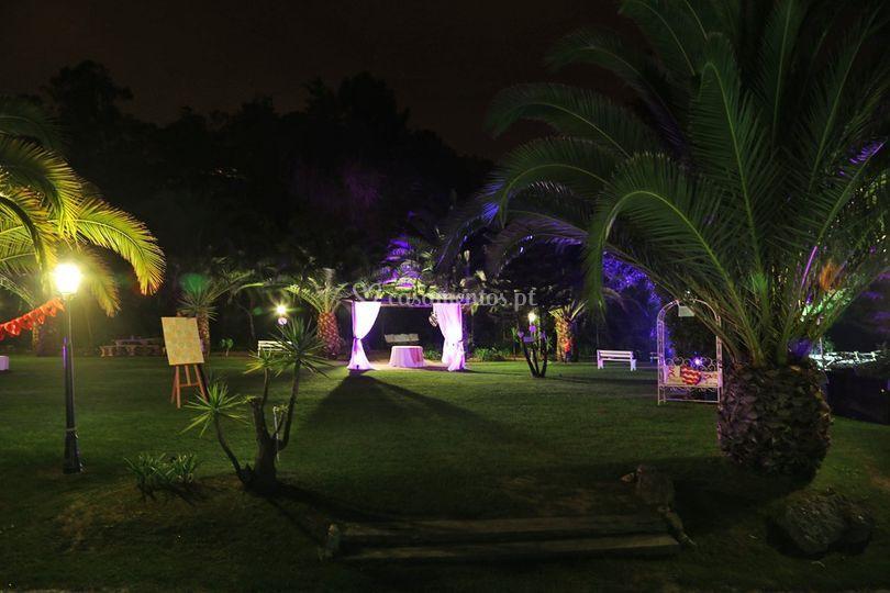 Iluminação decorativa exterior