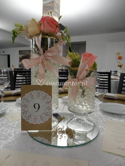 Decoração mesas de casamentos