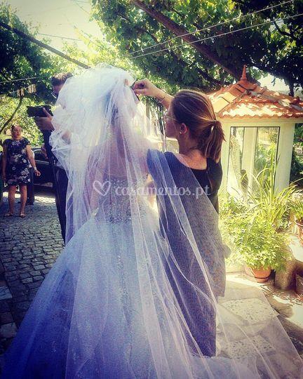 Noiva ao domicílio