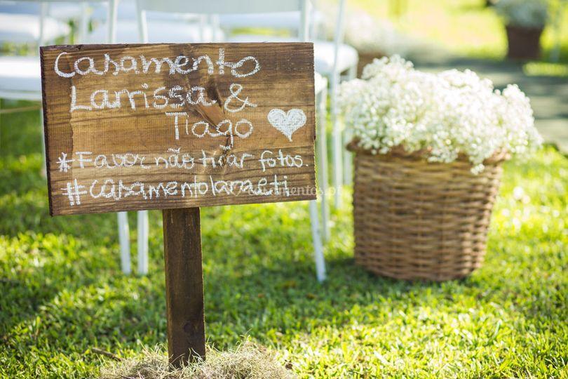 Casamento Larissa e Tiago