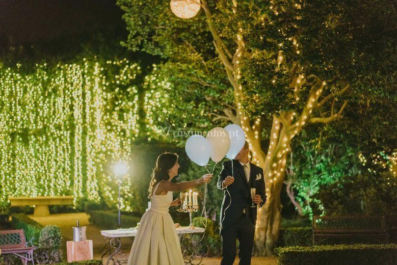 Surpresas dos noivos