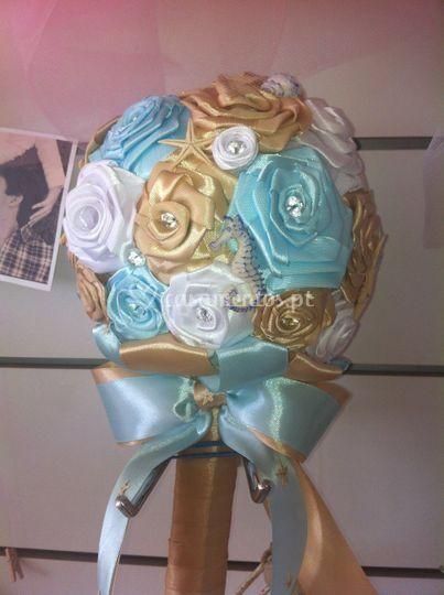 Bouquet cetim grande