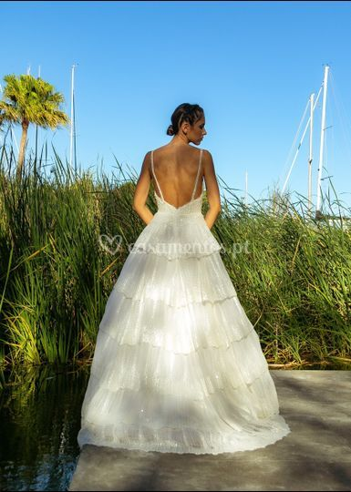 Lily: vestido princesa