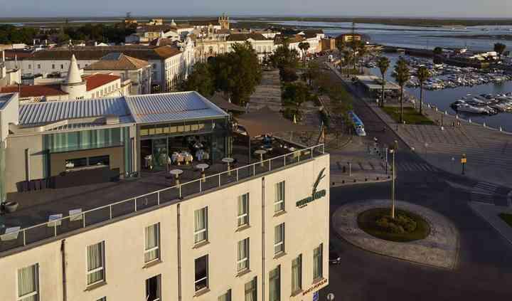 Hotel vista aérea