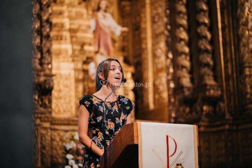 Salmo cantado no altar