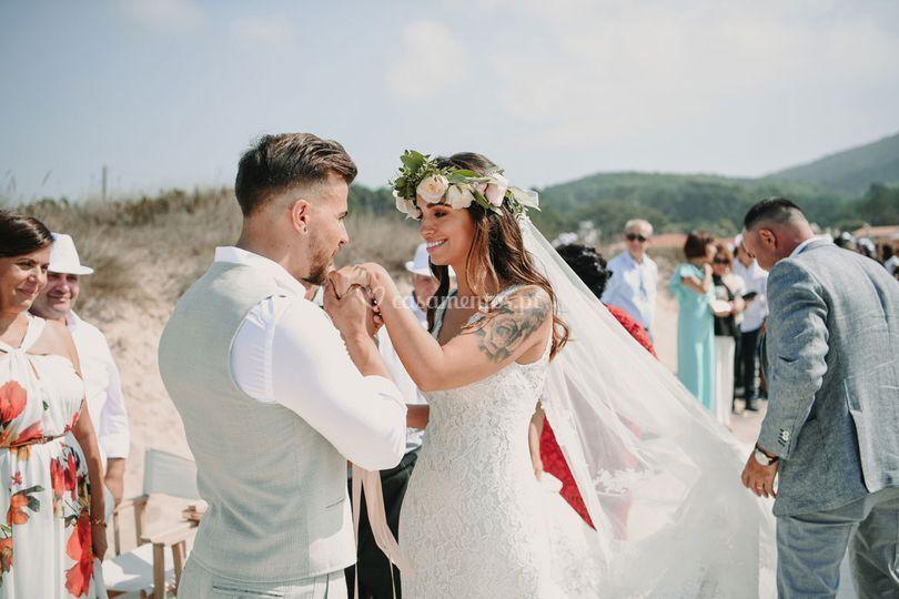 Felicidades aos noivos!