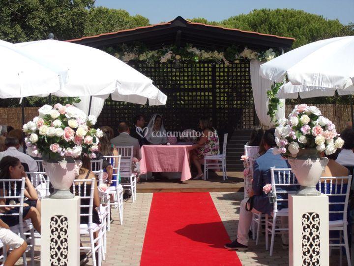 Cerimónia civil de casamento