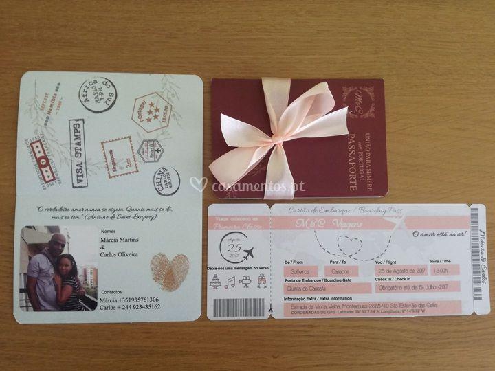 Convite passaporte