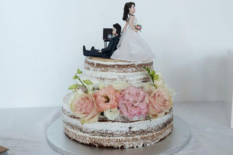 Raquel & Miguel Bolo de noiva