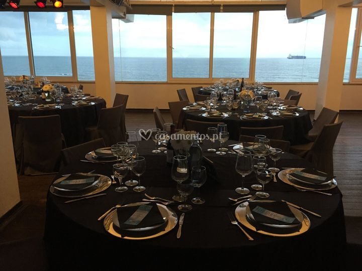 Sala de eventos de Bafureira Sunset Beach Club