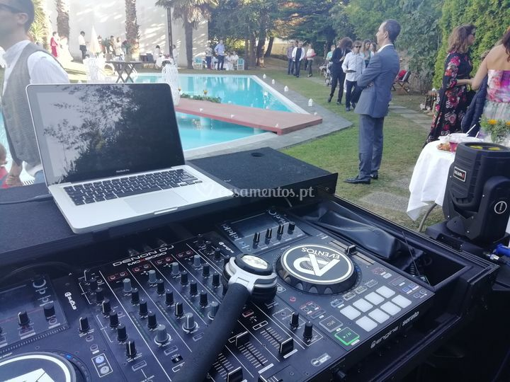 Pool party. Bodas de prata