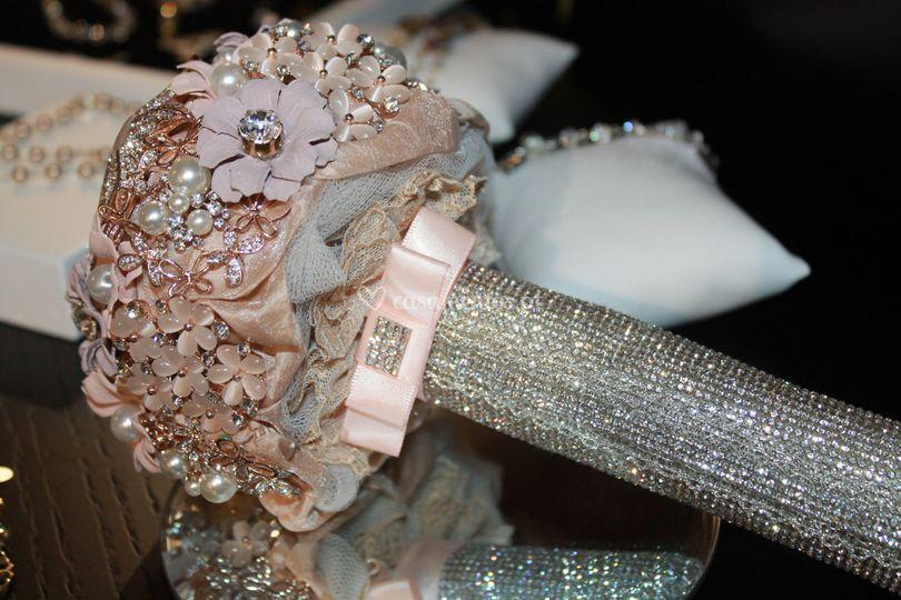 Bouquet prata rosa