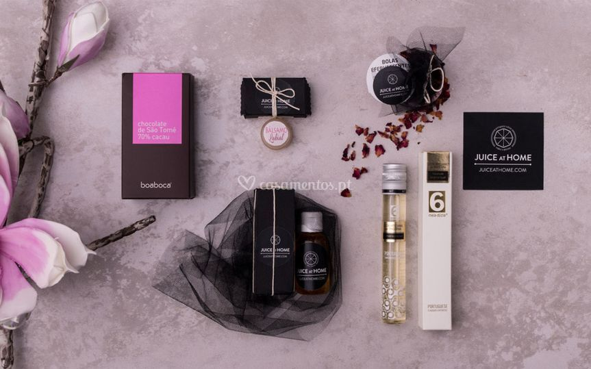 Giftbox noiva. 5 sentidos