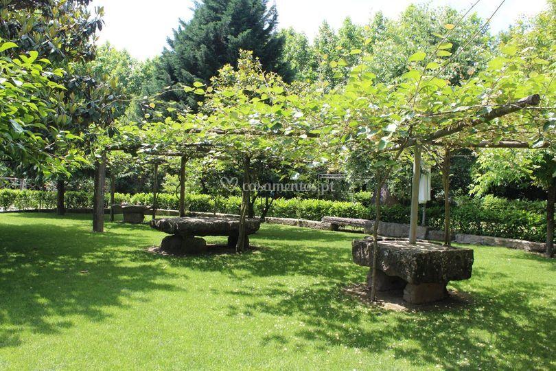 Zonas de jardim