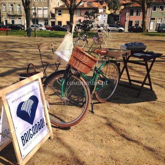 Bicicleta Brigadão no evento