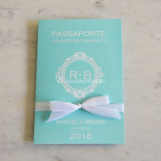 Convite - passaporte