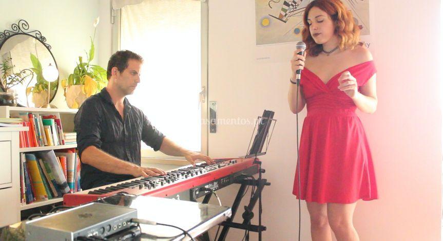 Duo com pianista